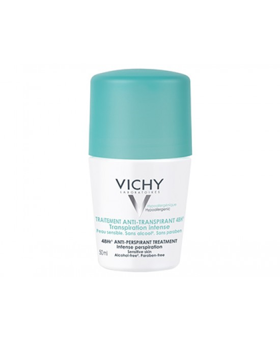 Vichy Deodoranti Roll-On Regolatore Anti-Traspirante 48h 50ml - Farmapage.it