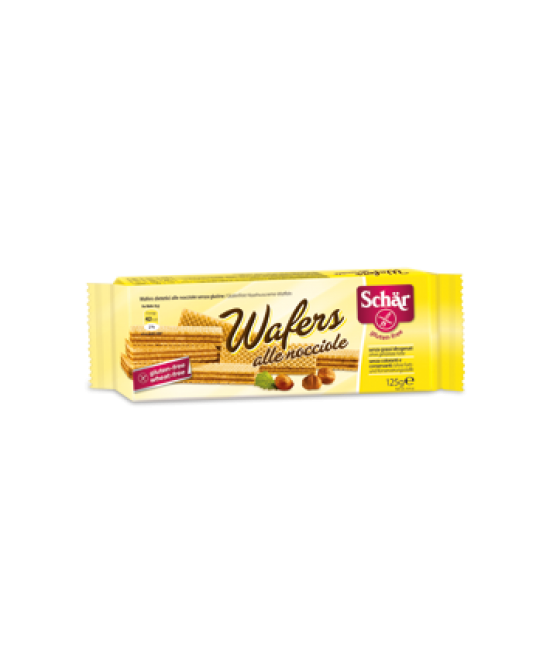 Schar Wafers Alle Nocciole Senza Glutine 125g - farma-store.it