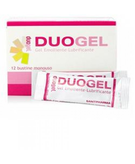 Duogel Gel Lubrificante Vaginale 12 Bustine da 4 ml