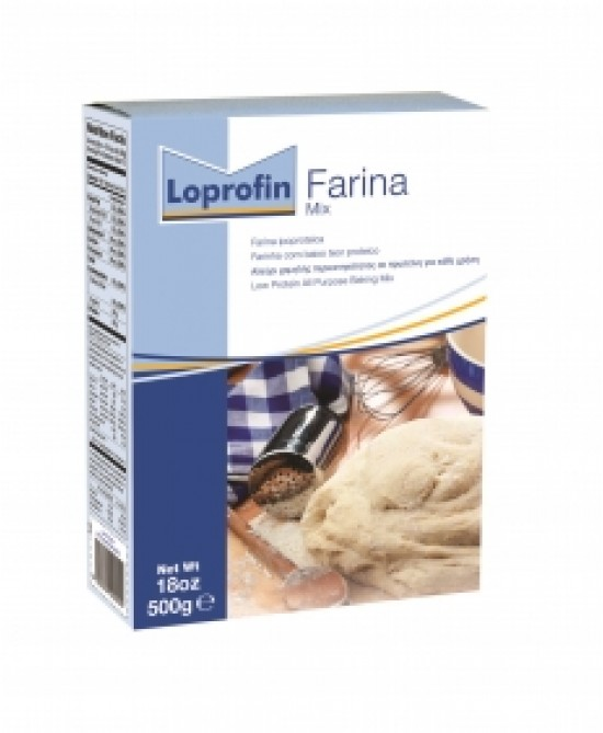 Loprofin Farina Mix Ipoproteica 500g - Farmafamily.it