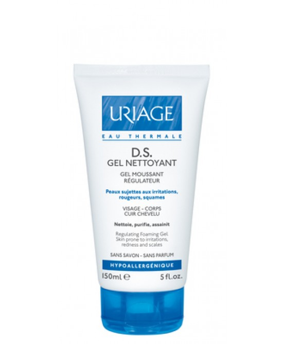 Uriage DS Gel Nettoyant Gel Detergente Regolatore 150 ml