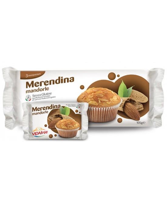 Vidafree Merendina Mandorle Senza Glutine 3x35g