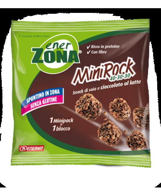 EnerZona Enervit  MiniRock 40-30-30  Snack Di Soia E Cioccolato Al Latte 24g - La farmacia digitale