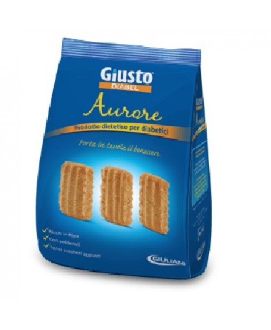 Giusto Diabel Biscotti Aurore Senza Zucchero 150g - Farmafamily.it
