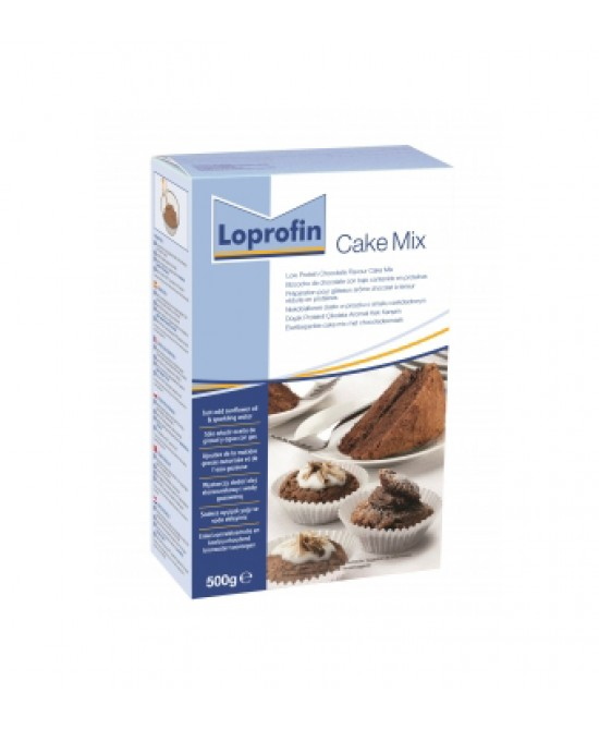 Loprofin Cake Mix Preparato In Polvere Gusto Cioccolato 500g - Farmapage.it