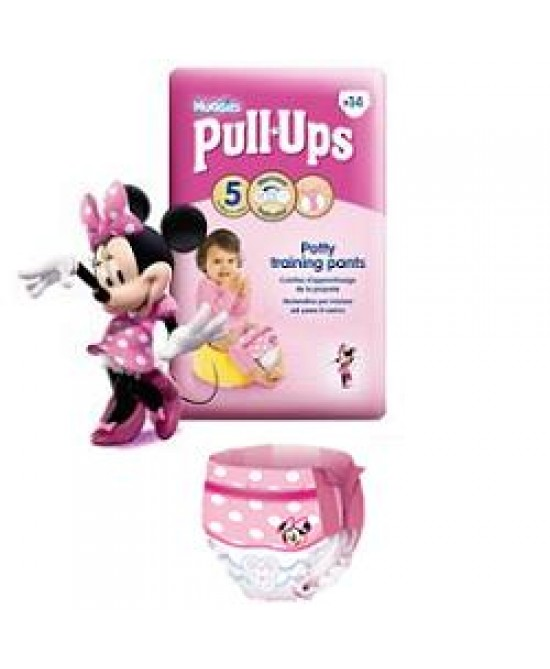 Huggies Pull Ups Girl 8/15 16p - Farmafamily.it