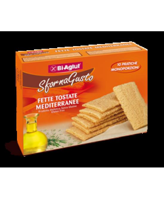 Biaglut Fette Tostate Mediterranee Senza Glutine 10 Monoporzioni - Farmajoy