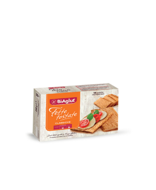 Biaglut Fette Tostate Classiche Senza Glutine 10 Monoporzioni - Farmawing