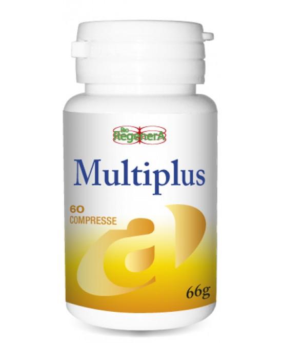BioRegenera Multiplus Integratore Alimentare 60 Compresse - Farmastar.it