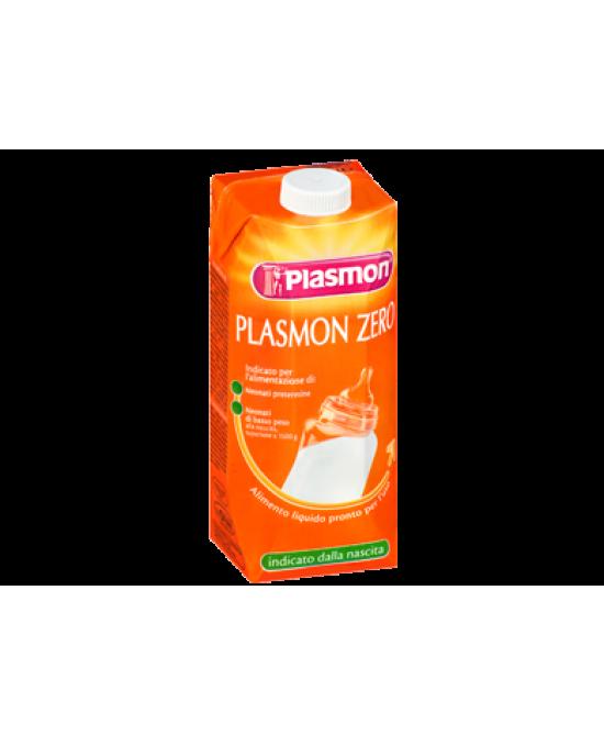 Plasmon Zero 500ml Latte - Farmaci.me