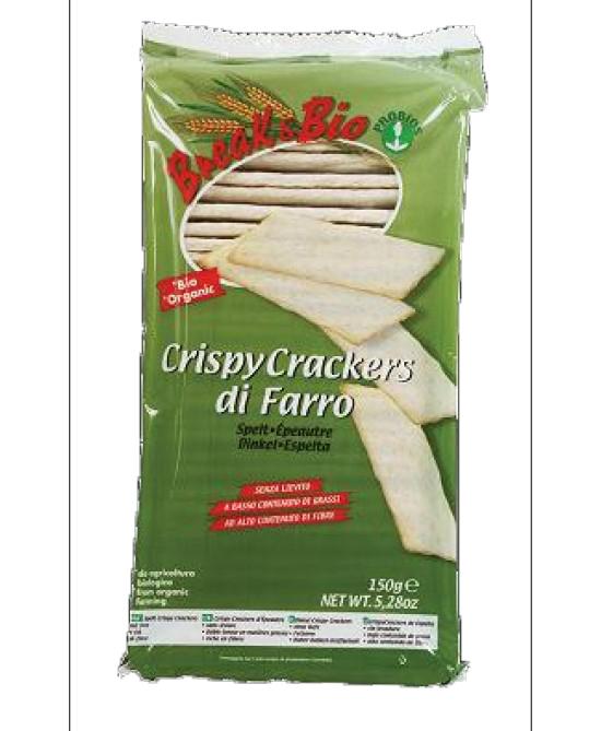 Brea&Bio Crispy Crackers Di Farro Biologici 150g offerta