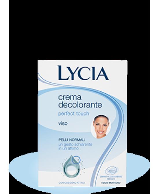 Lycia Perfect Touch Crema Decolorante Viso 8 Dosi Monouso - Farmacia 33