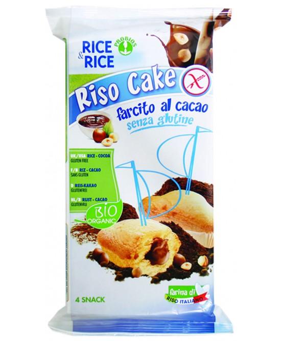 Rice&Rice Riso Cake Al Cacao Biologico 180g - FARMAEMPORIO