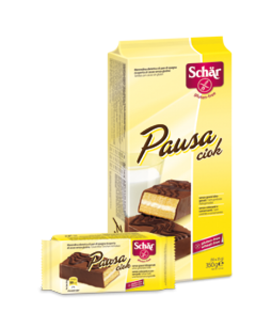 Schar Pausa Ciok Merendina Di Pan Di Spagna Ricoperta Al Cacao Senza Glutine 35g - FARMAPRIME