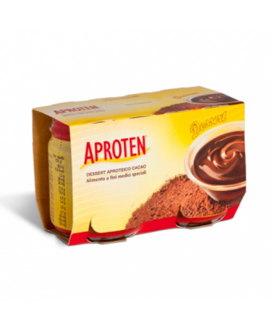 Aproten Budino Al Cacao 2 Confezioni Da 120g - La farmacia digitale