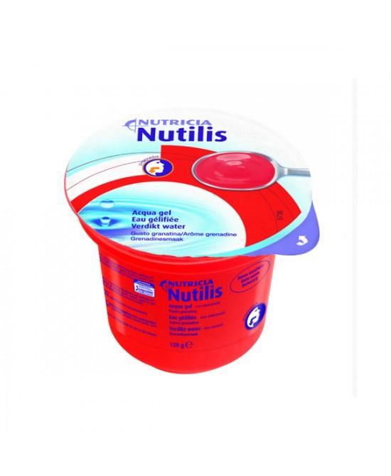 Nutricia Nutilis Aqua Gel Bevanda Gusto Granatina 12x125g - FARMAEMPORIO