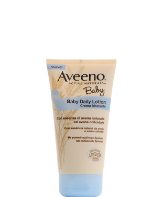 Aveeno Baby Daily Lotion Crema Idratante 150ml - Farmastar.it