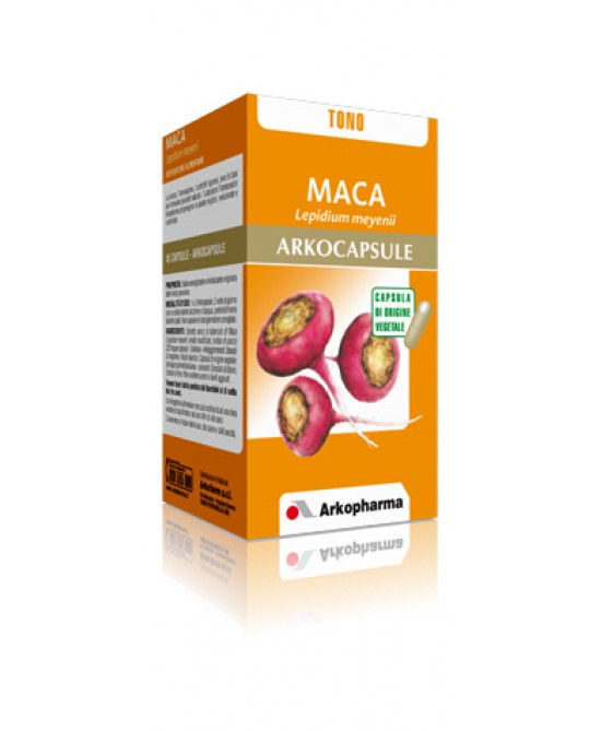 Arkopharma Maca Arkocapsule Integratore Alimentare 45 Capsule - Farmastar.it
