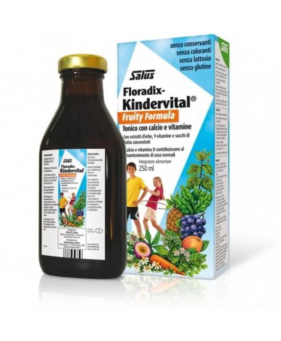 Salus Floradix Kindervital Fruity Formula 250ml - Farmacia 33