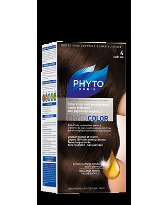 Phyto Phytocolor Colorazione Permanente Nuance 4 Castano Scuro