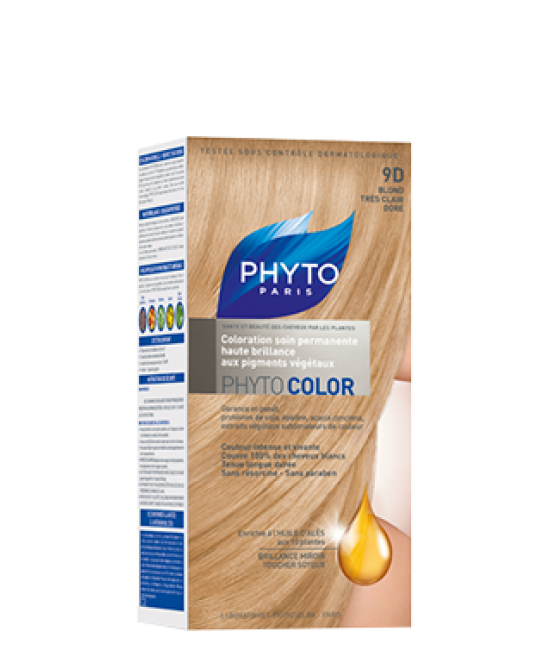 Phyto Phytocolor 9d Biondo Miele Colorazione Permanente