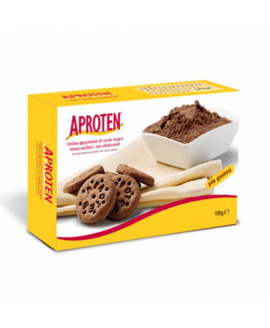 Aproten Frollini Al Cacao Magro Ipoproteici 180g New - Farmafamily.it