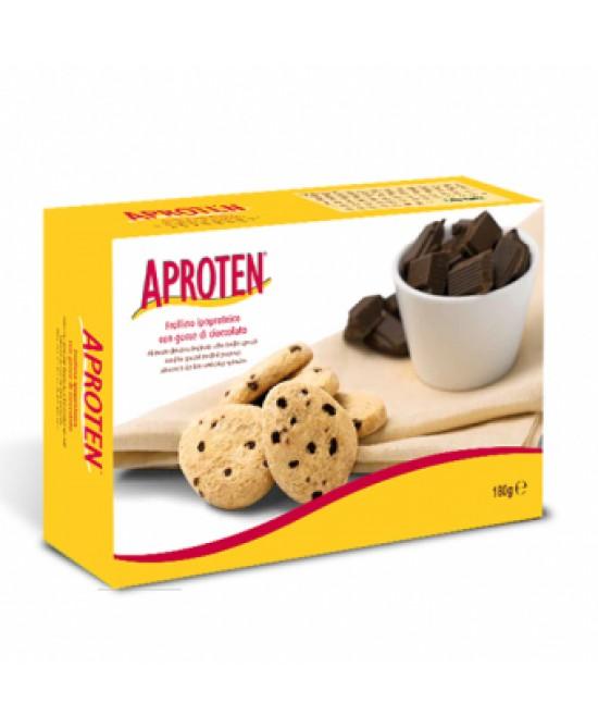 Aproten Frollini Con Gocce Di Cioccolato Ipoproteici 180g - La farmacia digitale