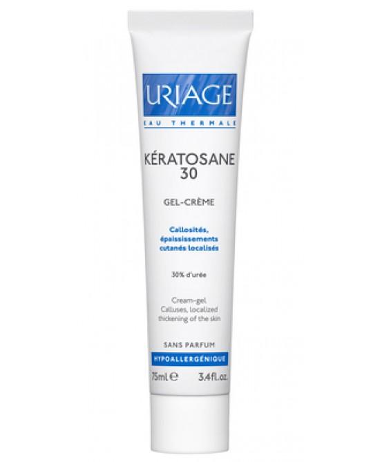 Uriage Kératosane 30 Gel Crema Cheratolitico 75 ml