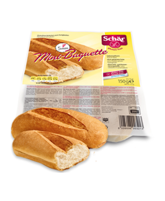 Schar Duo Mini-Baguette Senza Glutine 150g (2x75g) - Farmawing