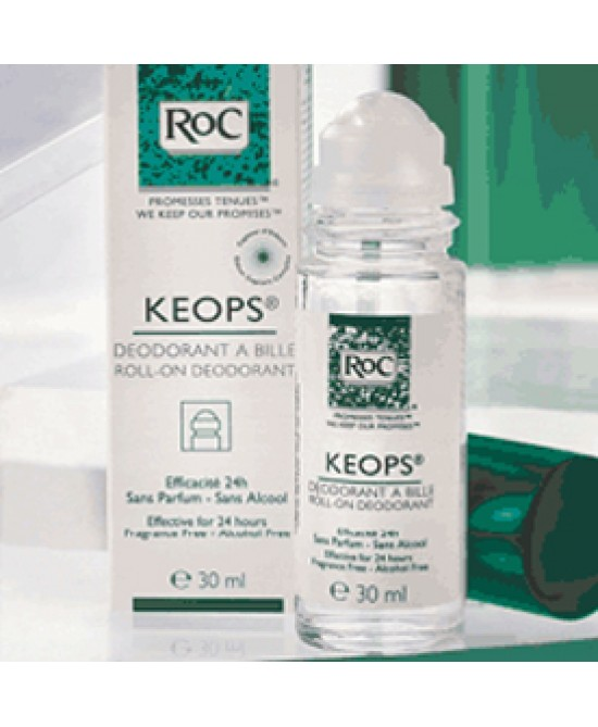 RoC Keops Deodorante Roll-On Sensitive Pelle Fragile 30 ml