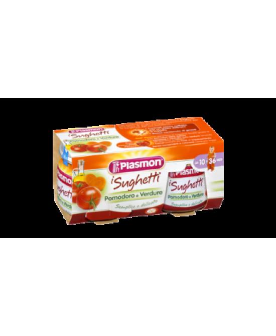Plasmon Sughetto Pomodoro E Verdure 2x80g - Farmajoy