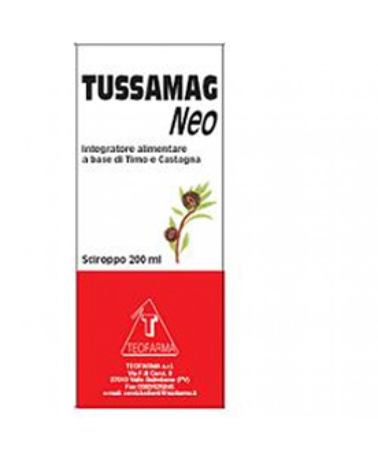 Tussamag Neo Sciroppo 200ml - Farmapage.it