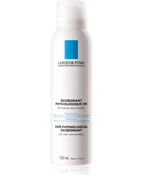 La Roche-Posay Deodorant Physiologique 24h Aerosol 150ml - Sempredisponibile.it