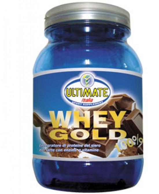 Ultimate Whey Gold 100% Integratore Alimentare Gusto Cacao 750g prezzi bassi