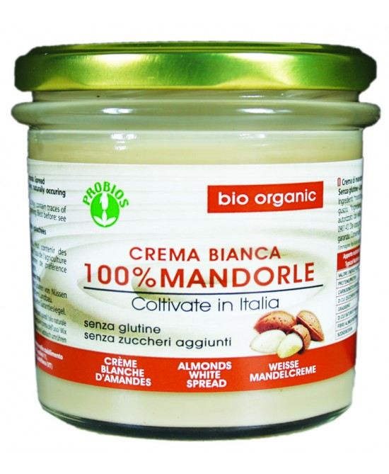 Probios Crema Mandorle Bianca Biologico 200g