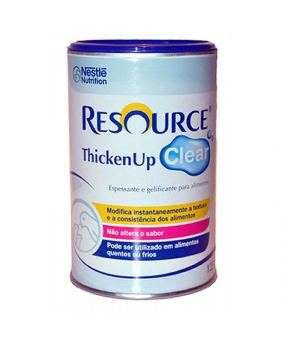 Resource Thickenup Clear Neutro Addensante Istantaneo in Polvere 125 g