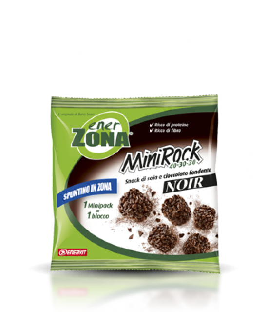 EnerZona Minirock 40-30-30 Noir Minirock 24 g - Farmalilla