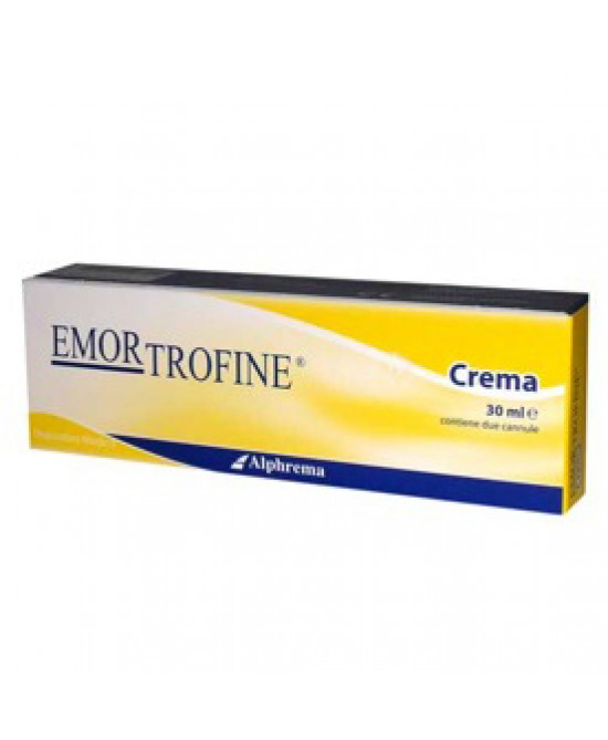 Emortrofine Crema Proctologica 30ml - Farmastar.it