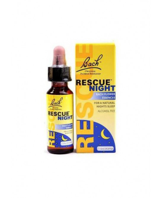 Bach Rescue Night Senza Alcool Gocce 10ml - Farmalilla