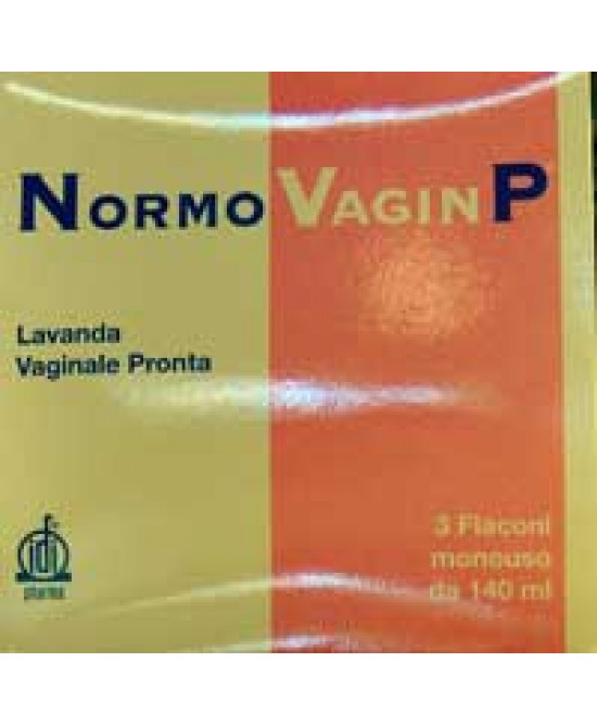 Normovagin P 5 Flaconcini da 100ml + 5 cannule Vaginali