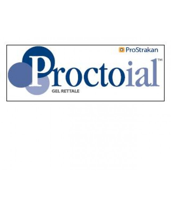 Proctoial Gel Rettale Emorroidi E Ragadi Anali 30ml - Farmastar.it
