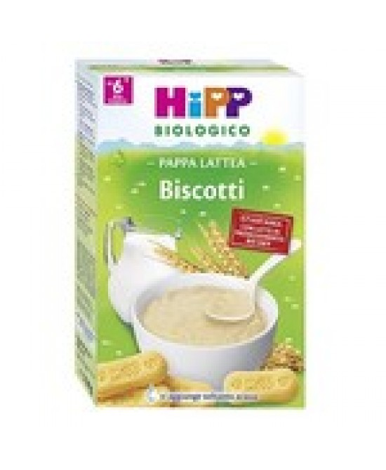 Hipp Biologico Pappa Lattea Biscotti 250g - Farmacistaclick