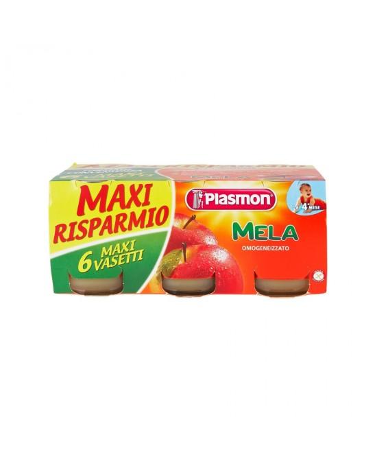 Plasmon Omogeneizzato Di Frutta Mela 6x104g - La farmacia digitale