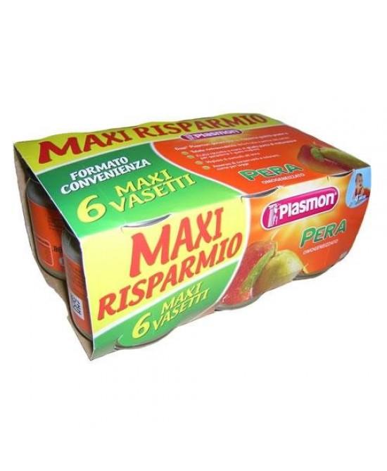 Plasmon Omogeneizzato Di Frutta Pera 6x104g - Farmacistaclick