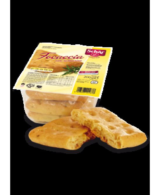 Schar Focaccia Senza Glutine Con Rosmarino 200g - Farmapc.it
