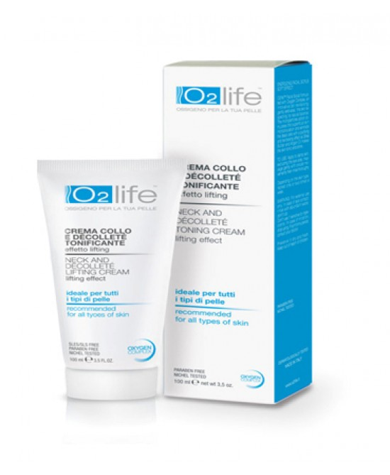 O2 Life Crema Collo/Decolte 100ml - Farmastar.it