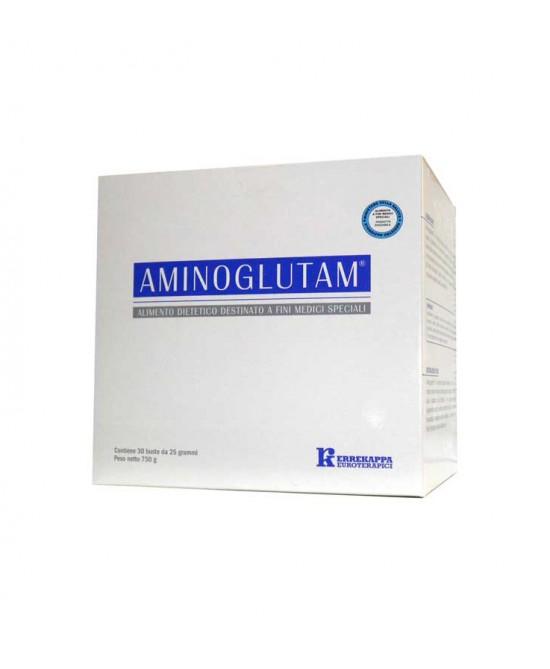 Aminoglutam Integratore Alimentare 30 Bustine - Farmastar.it