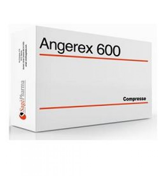 Angerex 600 Integratore Sistema Nervoso 20 Compresse