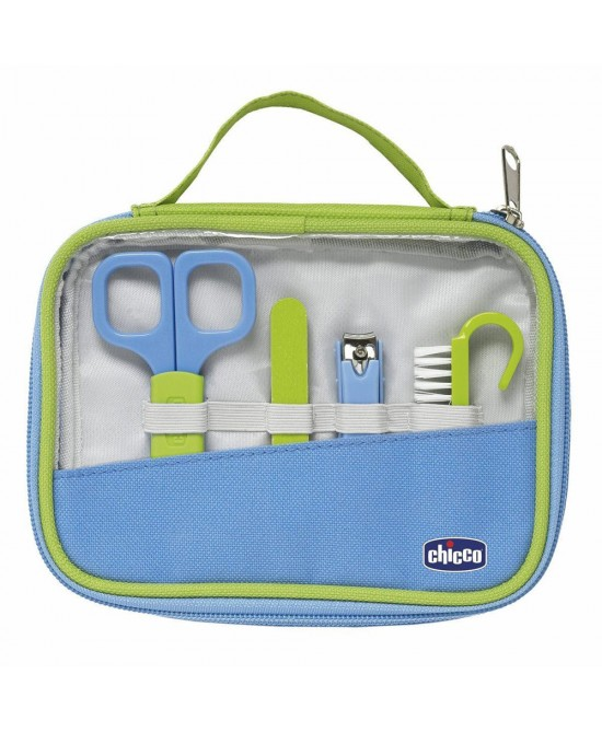 Chicco Set Unghie Happy Hands Azzurro E Verde - Farmafamily.it
