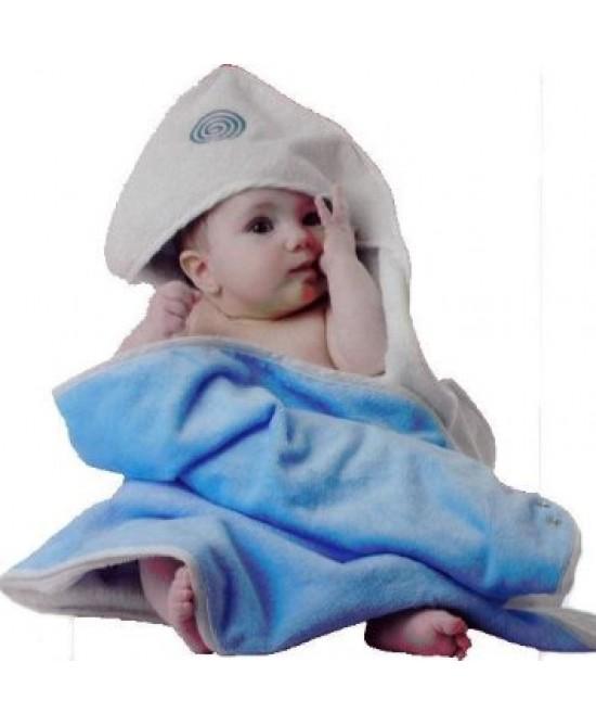 Quaranta Settimane Babyhug Azzurro Accappatoio - Farmajoy